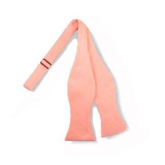 Bright Coral Men's Self tie Bow Tie 9911-0