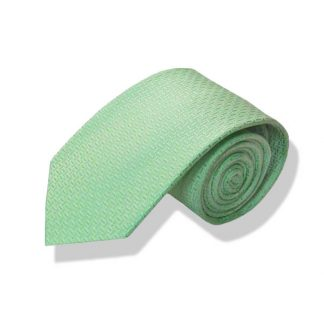 "63"" XL Mint Tone on Tone Men's Tie"