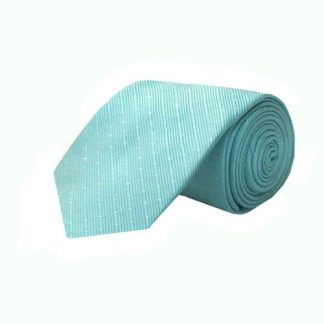 "63"" XL Aqua T/T Dot Stripe Men's Tie 2925-0"