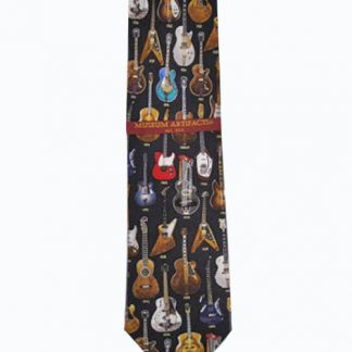 Classic Guitars Silk Men's Tie 4045-0