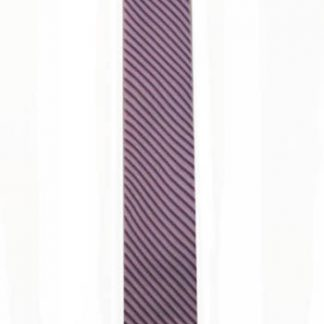 Lavender Stripe Knit Men's Tie 8033-0