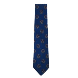 Blue Lacrosse Men's Tie 11045