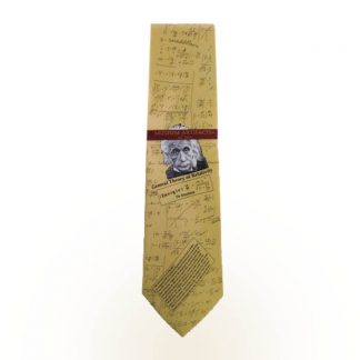 Albert Einstein Men's Silk Tie 5042