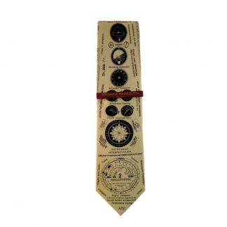 Instruments of Flight Men's Silk Tie 6632