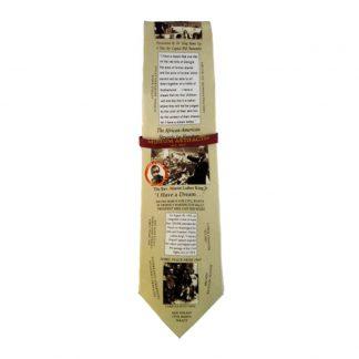 Martin Luther King Jr. Men's Silk Tie 6633