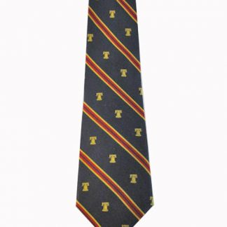 Liberty Bell Stripe Silk Men's Tie 6639-0