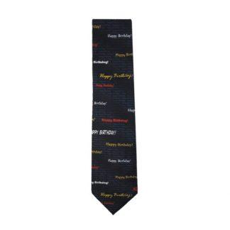 Happy Birthday Men's Tie 8943