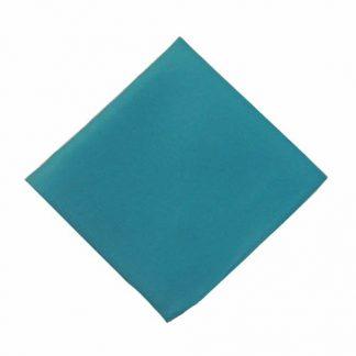 Teal Solid Pocket Square 4280-0