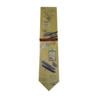 The Wright Brothers Men's Silk Tie 5078