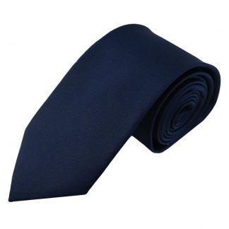 """63"""" XL Solid Navy Men's Tie 6291"""