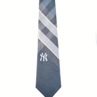 MLB New York Yankee Plaid Men's Tie 9050-0