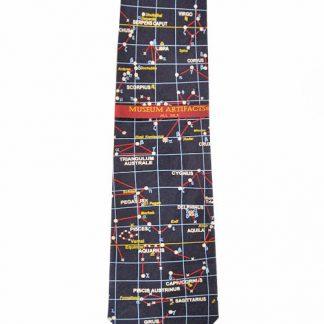 Astronomy Star Map Silk Men's Tie 11098-0