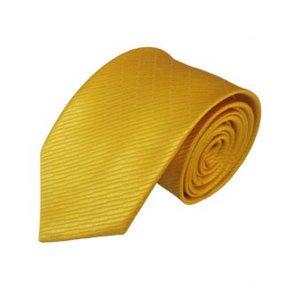 """63"""" XL Bright Yellow Solid Small Rectangle Tone on Tone Men's Tie 9816"""
