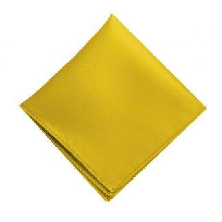 Solid Gold Pocket Square 185