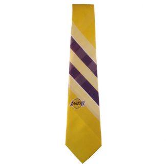 NBA Lakers Purple & Gold Men's Tie 3927