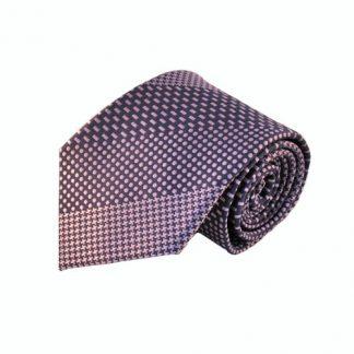 Lavender & Purple Pattern Stripe Men's Tie w/Pocket Square 8443-0