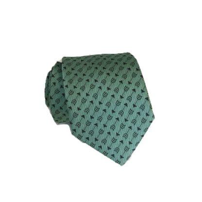 "48"" Boy's Mint w/Gray Arrows Tie 1999-0"