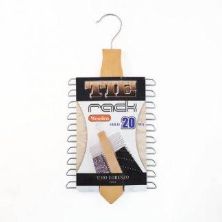 Wooden Tie Rack 8606-0