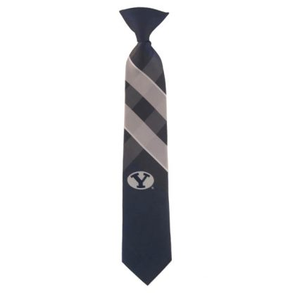 "14"" BYU Cougars Boy's Clip On Tie 1561"