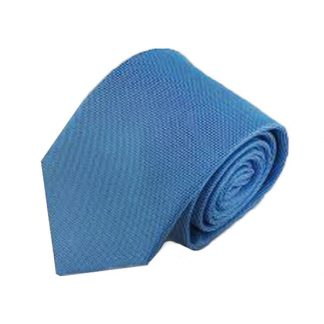 Light Blue Solid Tone on Tone Men's Tie