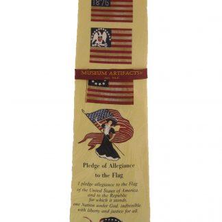 Pledge of Allegiance Silk Men's Tie 9767