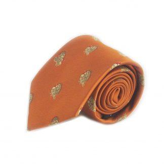 Orange, Turkeys Men's Tie