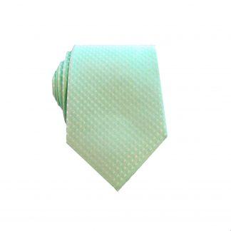 Mint Tone on Tone Men's Skinny Tie