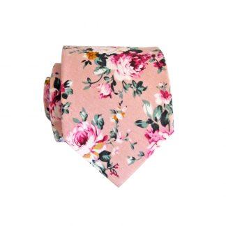 "49"" Boys Self Tie Mauve, Pink Floral 8528-0"