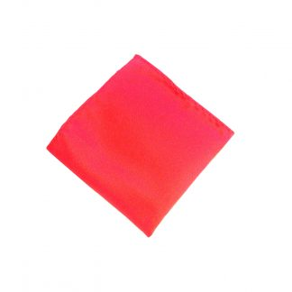 Red Solid Pocket Square 8410-0