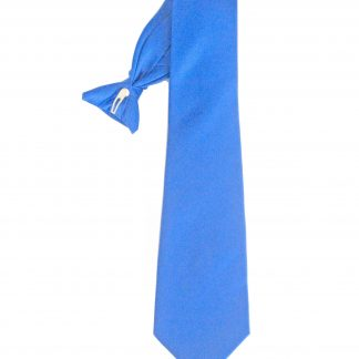 "21"" Clip-On Royal Solid Men's Tie 3592-0"
