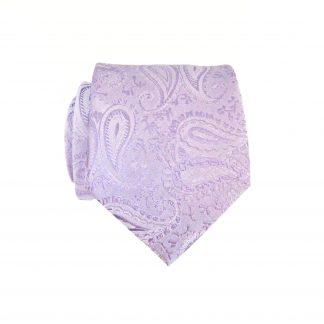 """49"""" Boy's Lavender Paisley Tie 5868-0"""