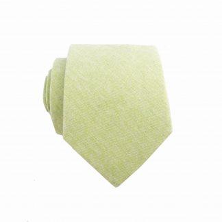 "49"" Boy's Self Tie Mint Solid Cotton Tie 9679-0"