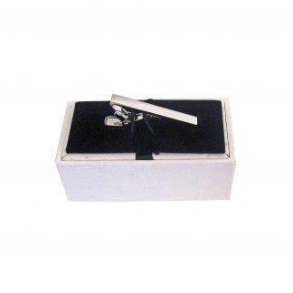 Silver Plain Tie Bar 5326-0