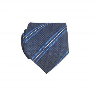 "49"" Boy's Self Tie Navy, Blue Stripe Tie 10111-0"