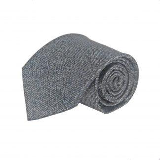 Black, Gray Squiggly Line Men's Tie 8934-0