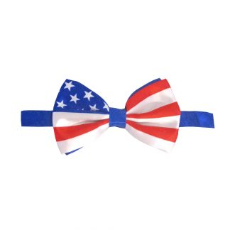 USA Flag Banded Bow Tie 7917-0