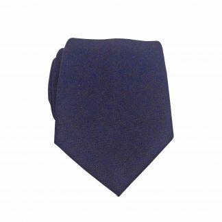 Navy Tone on Tone Skinny Men's Tie 7534-0