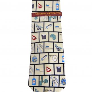 Dentist Tools Silk Men's Tie 3916-0