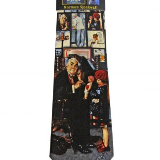 Norman Rockwell Family Doctor Silk Men's Tie 9383-0