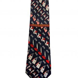 Bill of Rights 1776 Silk Men's Tie-0