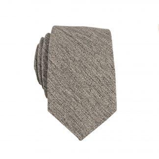 Olive, Black Marled Skinny Men's Tie 7644-0
