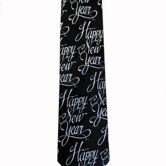 Happy New Year Men's Tie 8479-0